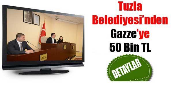 Tuzla'dan Gazze'ye 50 Bin TL