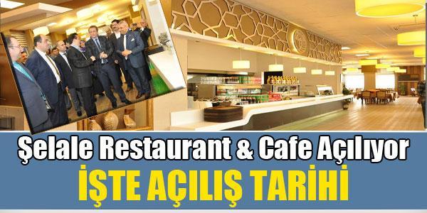 Şelale Restaurant&Cafe Açılıyor...