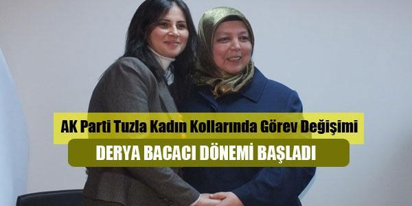 AK Parti Tuzla Kadın Kollarında 'Bacacı' devri