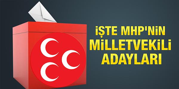 MHP İstanbul 1. Bölge Milletvekili Adayları Belli Oldu