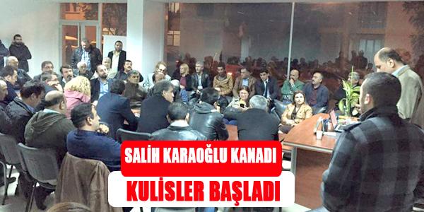 Salih Karaoğlu Kanadı Kulislere Başladı...