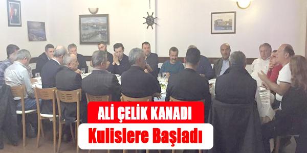 Ali Çelik Kanadı Kulislere devam ediyor...