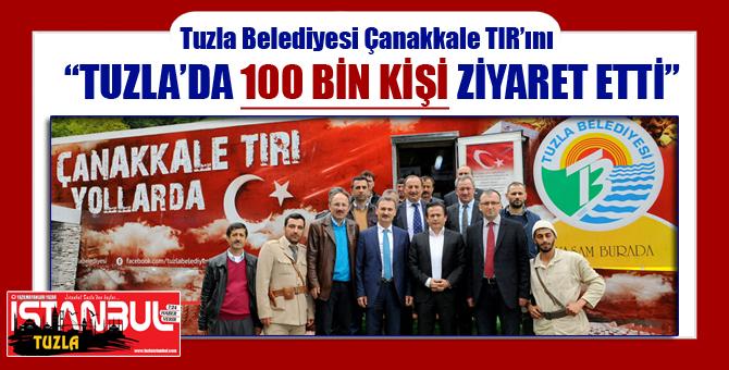 Tuzla Belediyesi Çanakkale TIR'ını Anadolu Yollarında...