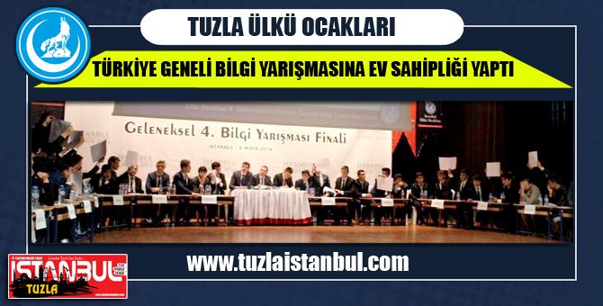 Tuzla Ülkü Ocakları Bilgi yarışmasına ev sahipliği yaptı.