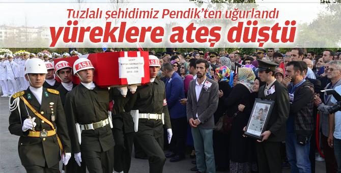 Şehit Ertan Bayraktar 15 Temmuz Şehitler Camii'nden uğurlandı...
