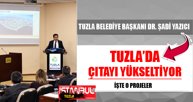 Başkan Yazıcı, Tuzla'da Çıtayı Yükseltiyor...