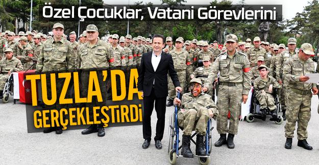 Özel Çocuklar, Vatani Görevlerini Tuzla'da Gerçekleştirdi.