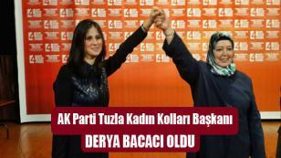 AK Parti Tuzla Kadın Kolları Başkanı Derya Bacacı oldu