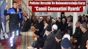 TDP'den Cami Cemaatine Uyarı
