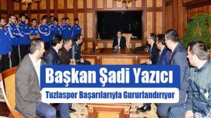 Başkan Yazıcı; Tuzlaspor Başarılarıyla Gururlandırıyor