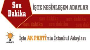 AK Parti İstanbul 1. Bölge Milletvekili Adayları Belli Oldu