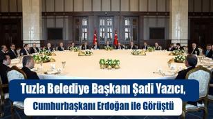 Başkan Yazıcı, Cumhurbaşkanı Erdoğan ile Görüştü