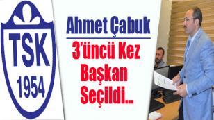 Tuzlaspor'da Ahmet Çabuk Yeniden Başkan...