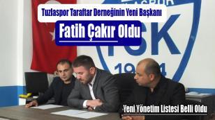 """Fatih Çakır """"Tuzlaspor Daha Güçlü Olacak"""""""