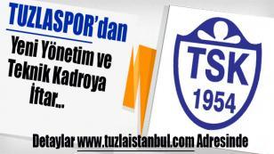 Yeni Yönetim Oluşturan Tuzlaspor'dan İlk İftar