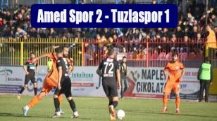 Amedspor 2 - Tuzlaspor 1