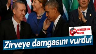 G20 Zirvesine Damga Vuran Fotoğraf...