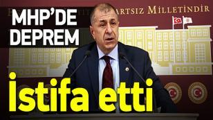 MHP'de Ümit Özdağ istifa etti…