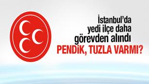 MHP İstanbul'da 7 İlçe Görevden Alındı! Atamalar Yapıldı.