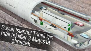 Tüp Geçit projesinde teklifler 3 Mayıs'ta.