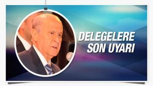 MHP kurultayı öncesi Bahçeli'den son uyarı...