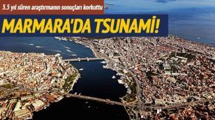 7'lik deprem 2 metrelik tsunami!
