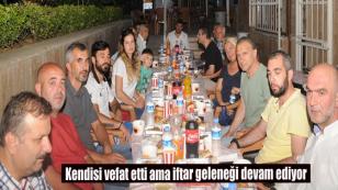 Merhum Yaşar Karadeniz'den geleneksel iftar...