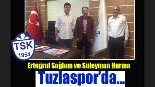 Ertuğrul Sağlam Tuzlaspor'da...