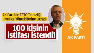AK Parti'de FETÖ Temizliği...