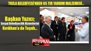 Tuzla Belediyesi, Sosyal Belediyecilik Hizmetlerini Kırıkhan'a da Taşıdı…