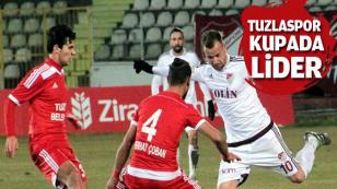 Tuzlaspor Türkiye Kupası E grubunda liderliğini sürdürdü...