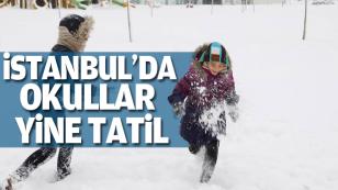 İstanbul'da Okullar yarında (Salı) tatil edildi...