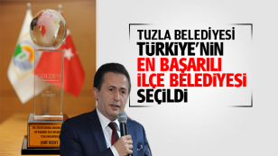 Tuzla Belediyesi, Türkiye'nin En Başarılı İlçe Belediyesi Seçildi...