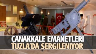 Çanakkale Emanetleri, Tuzla'da Sergilenmeye Başlandı...