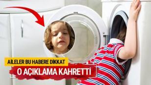 Çamaşır makinesindeki ölüm...