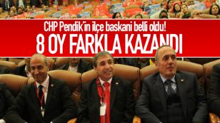 CHP Pendik'in İlçe Başkanı Doğan Çakmak oldu