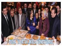Tuzla'yı Ortak Akılla Yönetiyoruz