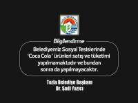 Boykota Tuzla Belediyesi'de katıldı