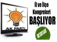 AK Parti'de İl Ve İlçe Kongreleri Başlıyor
