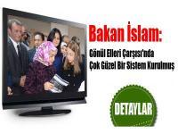 Bakan İslam: Gönül Elleri Çarşısını Gezdi