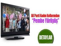 """AK Partili Kadınlardan """"Pembe Yürüyüş"""""""