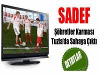 SADEF ve Şöhretler Karması Tuzla'da Sahaya Çıktı