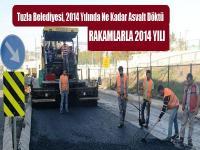 Tuzla Belediyesinden 40 Bin 700 Ton Asfalt