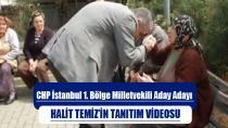 Halit Temiz Milletvekili Aday Adayı Seçim Videosu