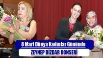 Tuzla Belediyesi'nden 8 Mart Dünya Kadınlar Günü Konseri