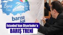 İstanbul'dan Diyarbakır'a Barış Treni...