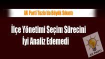 AK Parti Tuzla 7 Puan Düştü…