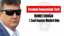 Mehmet Erduğan Terfi etti...