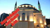 Nazmi Durbakayım Cami İbadete Açıldı…
