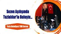 Tuzla Belediyesi THM Korosu, Tuzlalılar'la Buluştu.